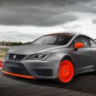 "Seat Ibiza SC Trophy Car Poster Print on 10 mil Archival Satin Paper 16"" x 12"""