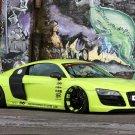 "Audi R8 V10 XXX Performance Car Poster Print on 10 mil Archival Satin Paper 16"" x 12"""