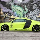 "Audi R8 V10 XXX Performance Car Poster Print on 10 mil Archival Satin Paper 20"" x 15"""