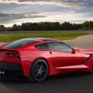"Chevrolet Corvette Stingray (2014) Car Poster Print on 10 mil Archival Satin Paper 16"" x 12"""