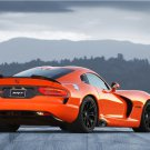 "Dodge Viper SRT Time Attack Car Poster Print on 10 mil Archival Satin Paper 16"" x 12"""