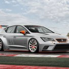 """Seat Leon Cup Racer (2014) Car Poster Print on 10 mil Archival Satin Paper 16"""" x 12"""""""