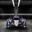 "Toyota TS040 Hybrid (2014) Race Car Art Poster Print on 10 mil Archival Satin Paper 17""x11"""