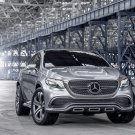 "Mercedes-Benz Coupé SUV Concept (2014) Car Art Poster Print on 10 mil Archival Satin Paper 17""x11"""