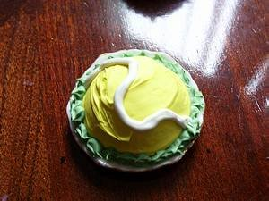 Tennis Cake Barbie Doll Size
