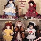 Crochet Darling Dresses: Crochet Collection for Little Girl Dolls 11 ½  Porcelain-Look Dolls NEW