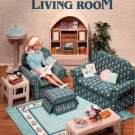 Barbie, Fashion Doll Living Room Plastic Canvas Pattern Book NEW