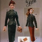 "Gene Fashion Doll 15 1/2"" Vogue Craft 40's Smart Suit Fashion Sewing Pattern NEW"