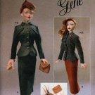 "Gene Fashion Doll 15 1/2"" Vogue Craft 40's Smart Suit Fashion Sewing Pattern NEW"