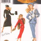 "Gene Fashion Doll 15 1/2"" Daytime 50's Fashions Series 1 Couturier Sewing Pattern NEW"