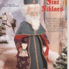 Old World Santa, Sint Niklaes, Plastic Canvas Pattern, NEW