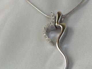 Sterling silver Lover pendant #313
