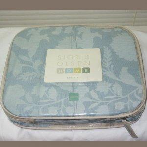 Sigrid Olsen SEAWATER Starlight Queen Bedskirt Retail $129