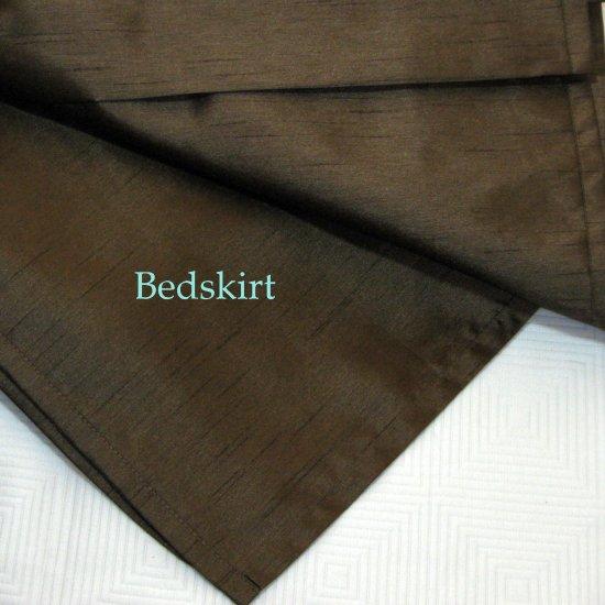 Brown Queen Bed Skirt 71