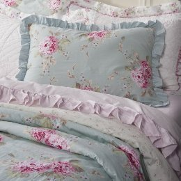 Simply Shabby Chic Hydrangea Rose Full Queen Duvet