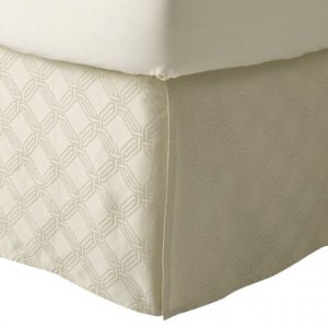 Fieldcrest Luxury ICON CREAM King Bedskirt Target