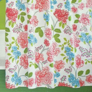 Target Home Multifloral Fabric Shower Curtain