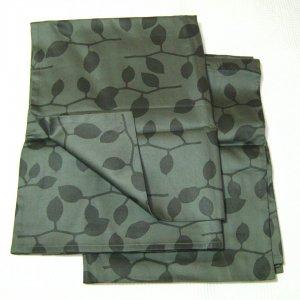 Calvin Klein STEEL VINES  2 Standard Shams Green Charcoal