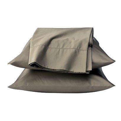 Fieldcrest Luxury TAUPE 600 TC queen Egyptian Cotton Sheet Set