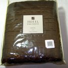 Kohl's Queen Brown Faux Silk Quilt Coverlet HOTEL by PARK AVENUE CHEVAL