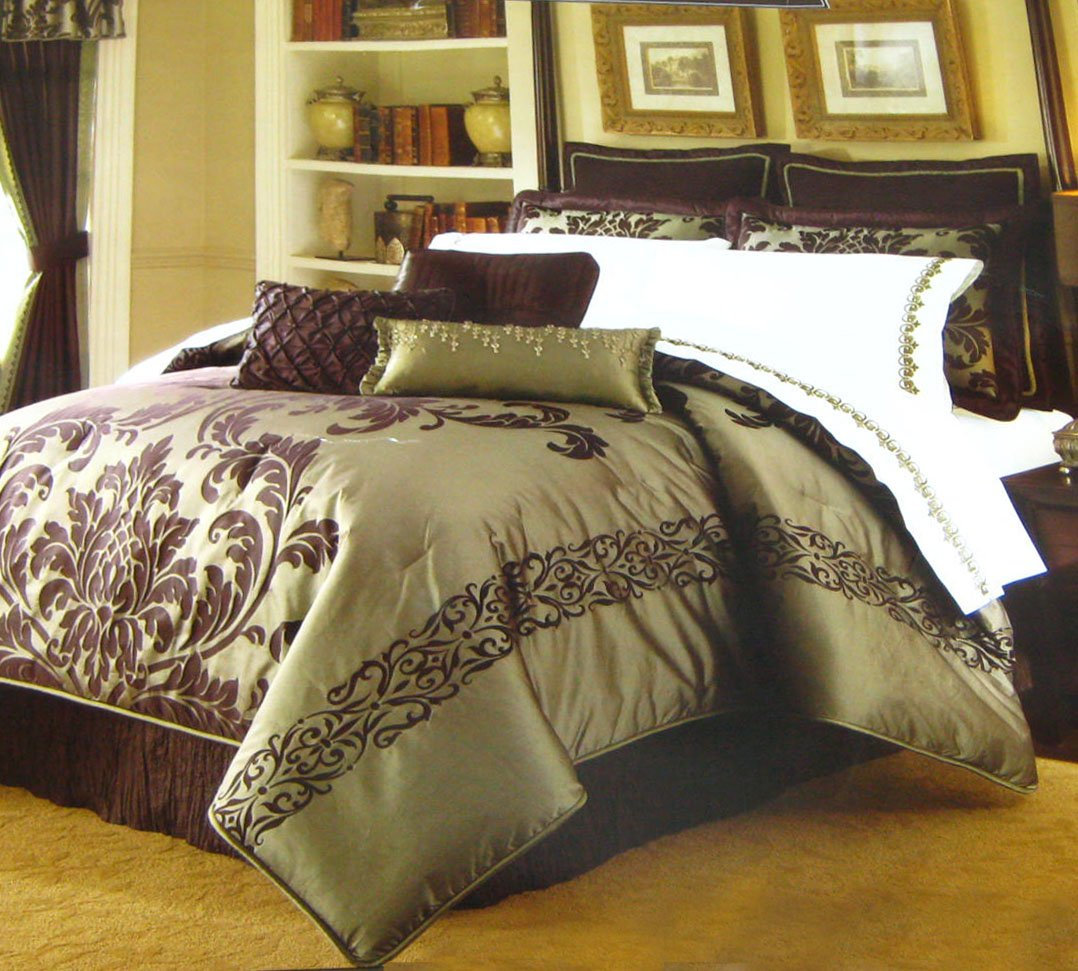 Kohl S Queen Cadence Comforter Set Park Avenue Luxury
