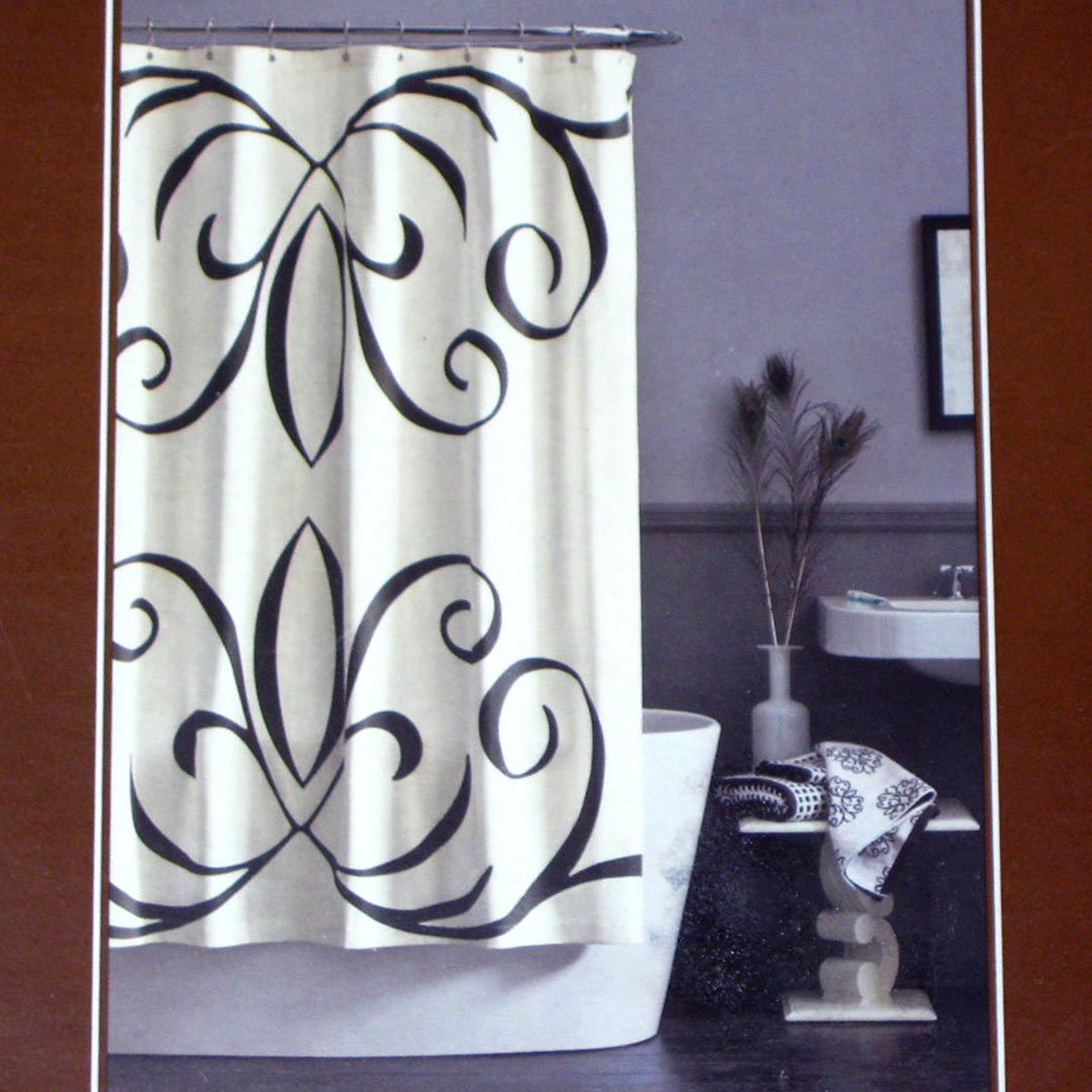 dwell shower curtain   dwell studio pansy green gray cream  - dwell studio baroque target fabric shower curtain
