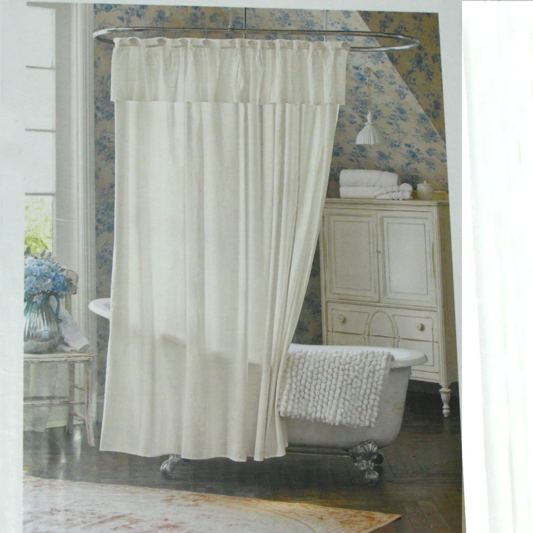 Curtains And Drapes Walmart Shabby Chic Balloon Valance