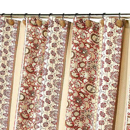 Kohl S Sonoma San Rafael Floral Paisley Red Brown Khaki