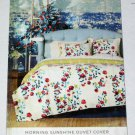 Springmaid MORNING SUNSHINE Full/Queen 3 pc  Duvet Set Floral Multicolor