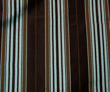 Brown And Blue Striped Curtains - Best Curtains 2017
