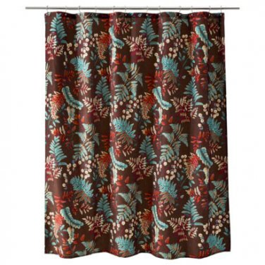 Emejing Red And Teal Shower Curtain Gallery - 3D house designs ...