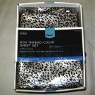 Target Home 600 TC ANIMAL PRINT LEOPARD KING 4-piece Cotton Sheet Set