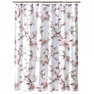Imperfect Target Home BOTANICAL BIRD Pink Fabric Shower Curtain
