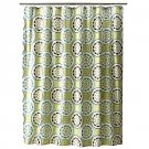 Threshold MEDALLION Green Blue Fabric Shower Curtain Target