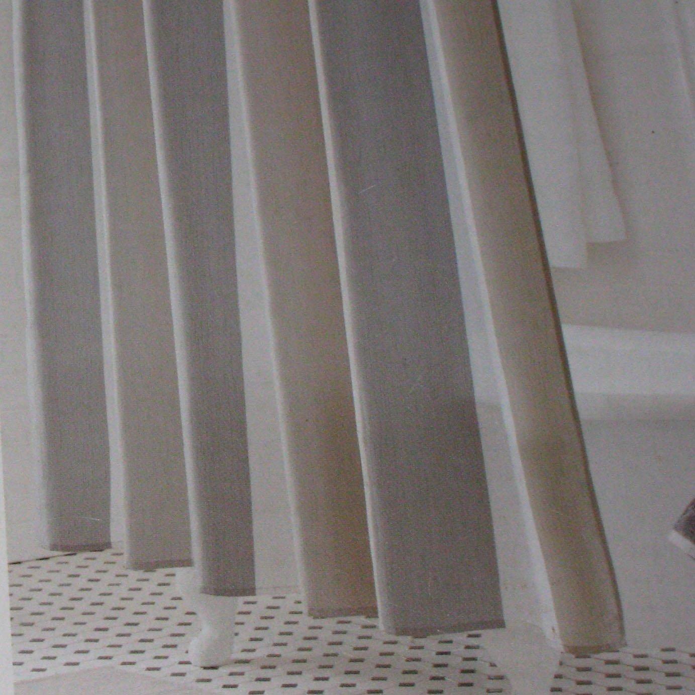 Threshold Grey Multistripe Gray White Fabric Shower