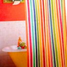 Circo MULTICOLOR STRIPE Fabric Shower Curtain Target