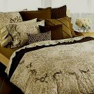 DKNY Urban Antique King Duvet Cover 2 Shams Brown