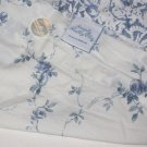 Simply Shabby Chic BATIK BLUE ROSE Twin Duvet Cover OR FABRIC Floral