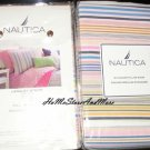 2 Nautica Langley Stripe Standard Shams New