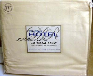 Hotel Collection Ivory Queen Sheet Set 400 TC New