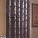 Croscill Empire Blue Fabric Shower Curtain New