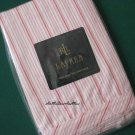 Ralph Lauren Summer Cottage Pink Ticking King pillowcase new