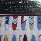 Tommy Hilfiger Surfs Up Queen Sheet Set New