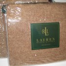 New $175 Ralph Lauren Brittany Tweed Wool King Sham