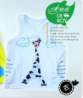 Cow Tank Top Size 5 ( Dimension no available)