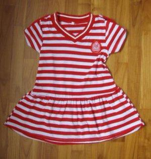 134 Red Strip Dress Size 5