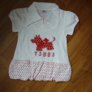 147  Red Little Dog T Size 9