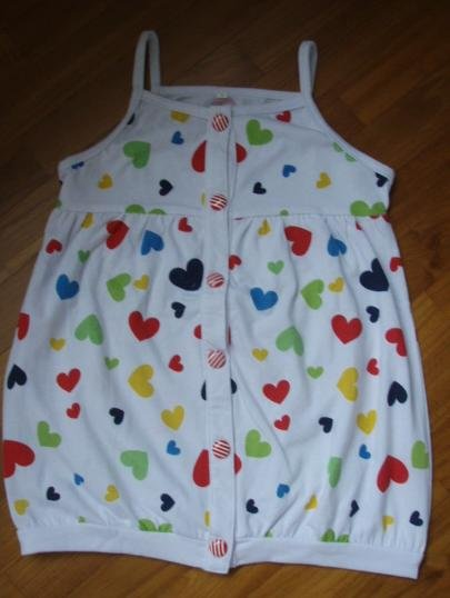 141 Printed HEART Dress
