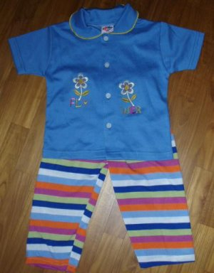 201 Polo Tee 2 piece Set - Pink  ( Suitable for 3 yrs old)