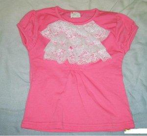 590 Pink Elegant Cute Top (Size 5)